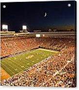 Oklahoma State Boone Pickens Stadium Under The Lights Acrylic Print by Oklahoma State University