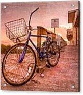 Ol' Bike Acrylic Print