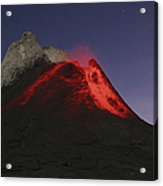 Ol Doinyo Lengai Eruption, Rift Valley Acrylic Print