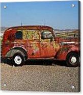 Ol Rust Bucket Acrylic Print