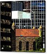 Old Against New Acrylic Print