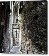 old alley in Italy Acrylic Print