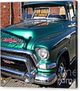 Old American Gmc Truck . 7d10665 Acrylic Print