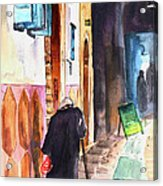 Old And Lonely In Morocco 03 Acrylic Print
