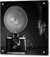Old Ansco Camera  Acrylic Print