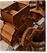Old Apple Press 2 Acrylic Print