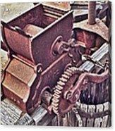 Old Apple Press 3 Acrylic Print