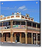 Old Aussie Pub Acrylic Print