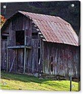 Old Barn In Etowah Acrylic Print