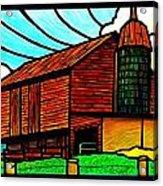 Old Barn On Keezletown Road Acrylic Print