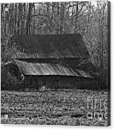 Old Barn Out Back Acrylic Print