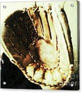 Old Baseball Glove Acrylic Print