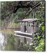 Old Boat House Acrylic Print