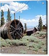 Old Cabin Mine Acrylic Print by Kirk Williams