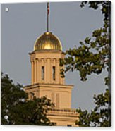 Old Capitol Acrylic Print by Diane Zumbach