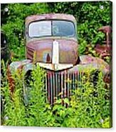 Old Car Grave Yard Acrylic Print