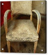 Old Chair Acrylic Print