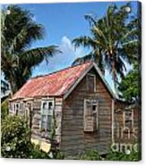 Old Chattel House 2 Acrylic Print