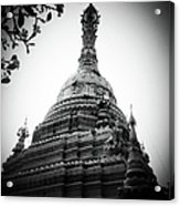 Old Chedi, Chiang Mai Acrylic Print by Robsteerphotopgraphy