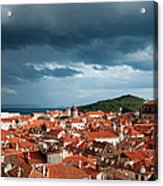 Old City Of Dubrovnik Acrylic Print