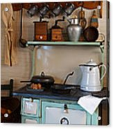 Old Cook Stove Acrylic Print