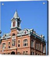 Old Courthouse Powhatan Arkansas 1 Acrylic Print