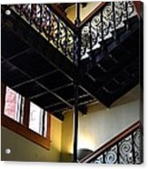 Old Courthouse Stairway Acrylic Print