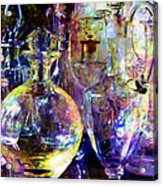 Old Decanters Acrylic Print