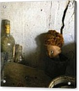 Old Doll In The Attic Acrylic Print