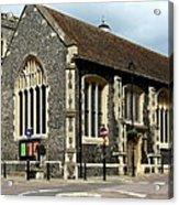 Old English Church Uxbridge Uk Acrylic Print