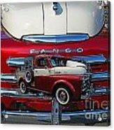 Old Fargo Pick Up Truck Acrylic Print