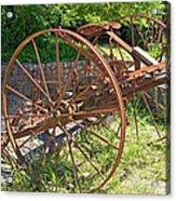 Old Farm Machine 3 Acrylic Print