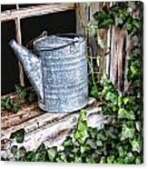 Old Fashioined Sprinkling Can 1 Acrylic Print