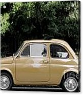 Old Fiat Acrylic Print
