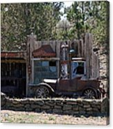Old Filling Station Acrylic Print