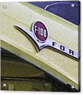 Old Ford Pick-up Acrylic Print
