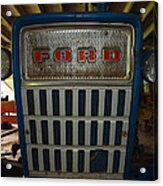 Old Ford Tractor Acrylic Print