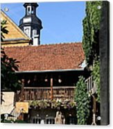 Old Franconian House Acrylic Print