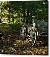 Old Frontier Wagon 1 Acrylic Print
