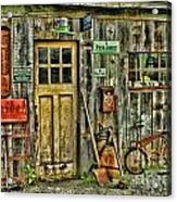 Old General Store Hdr Acrylic Print