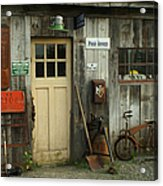 Old General Store Acrylic Print