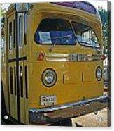 Old Gm Bus Acrylic Print