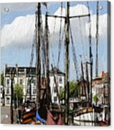 Old Harbor Acrylic Print