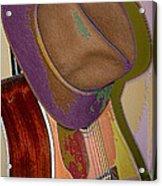 Old Hat Acrylic Print