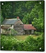 Old Home Place Acrylic Print by Douglas Barnett