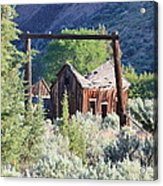 Old Homestead On Trout Creek Acrylic Print