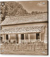 Old House In The Cove Acrylic Print