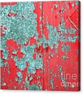 Old Iron Gate Acrylic Print