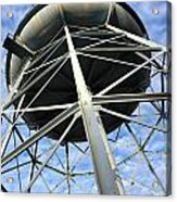 Old Iron Water Tower Acrylic Print