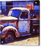 Old Junk Truck Acrylic Print